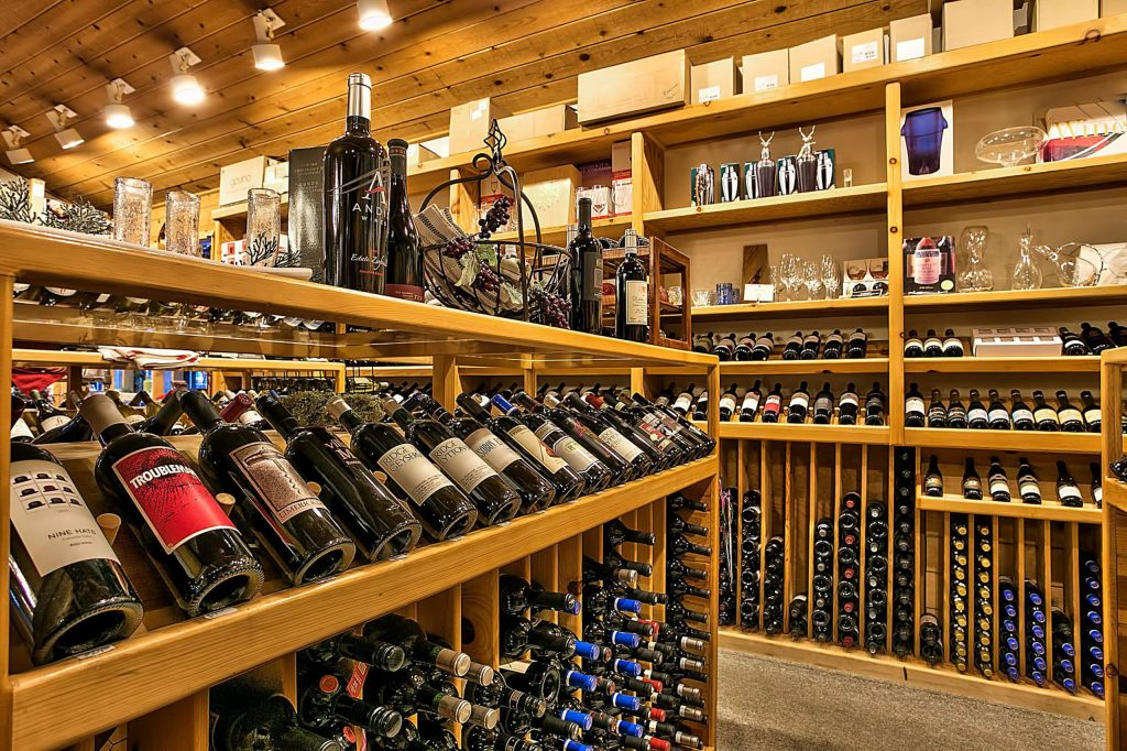 Cork & More offers wine tasting daily.