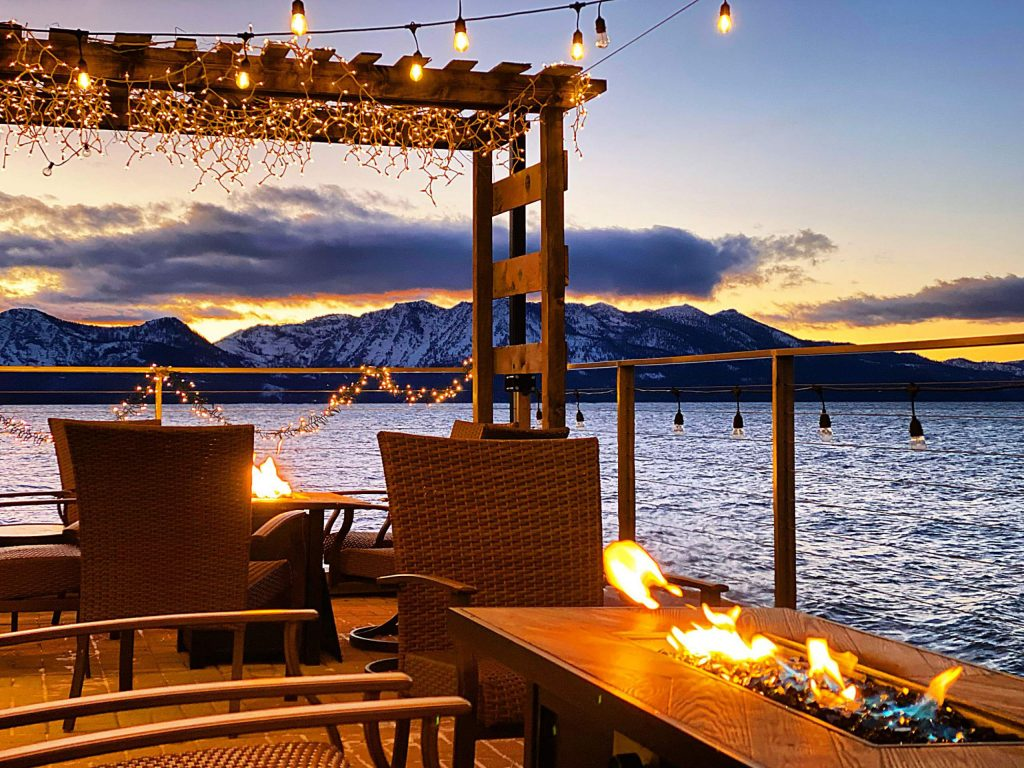 Idle Hour in South Lake Tahoe has lake front views.
