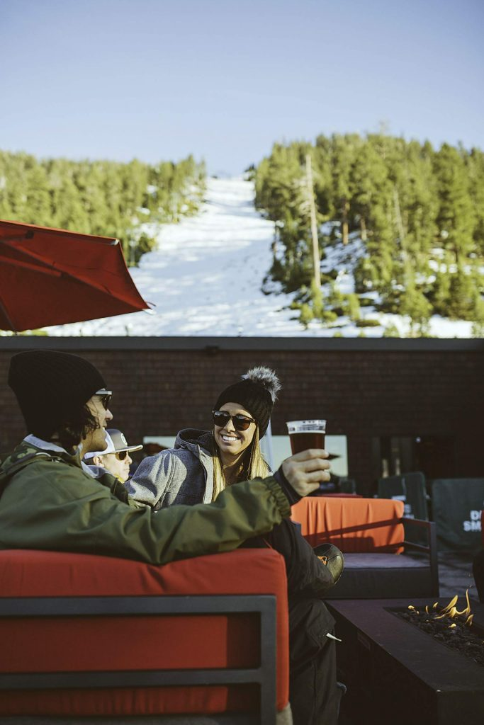 Take a ski break at Heavenly.