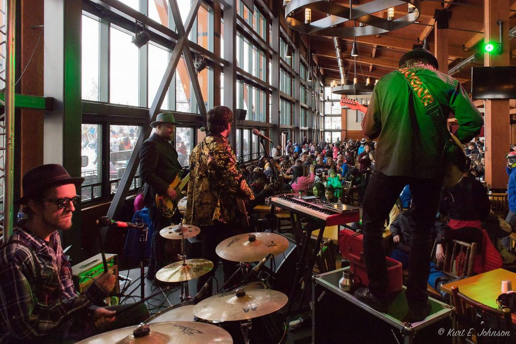 The Send it Band will play at Heavenly Mountain Ski Resort this weekend.