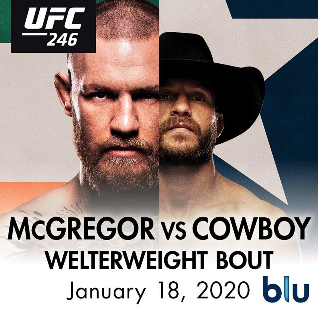 Mcgregor Vs Cowboy Ufc 246 Viewing Party Saturday At