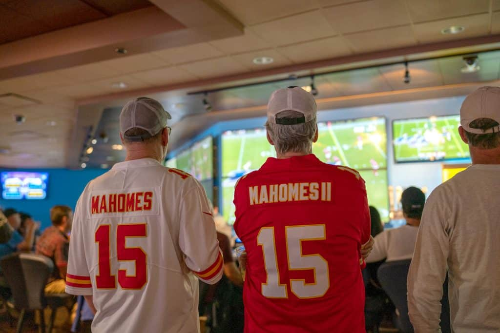 Kansas City Chiefs fans  were in attendance.