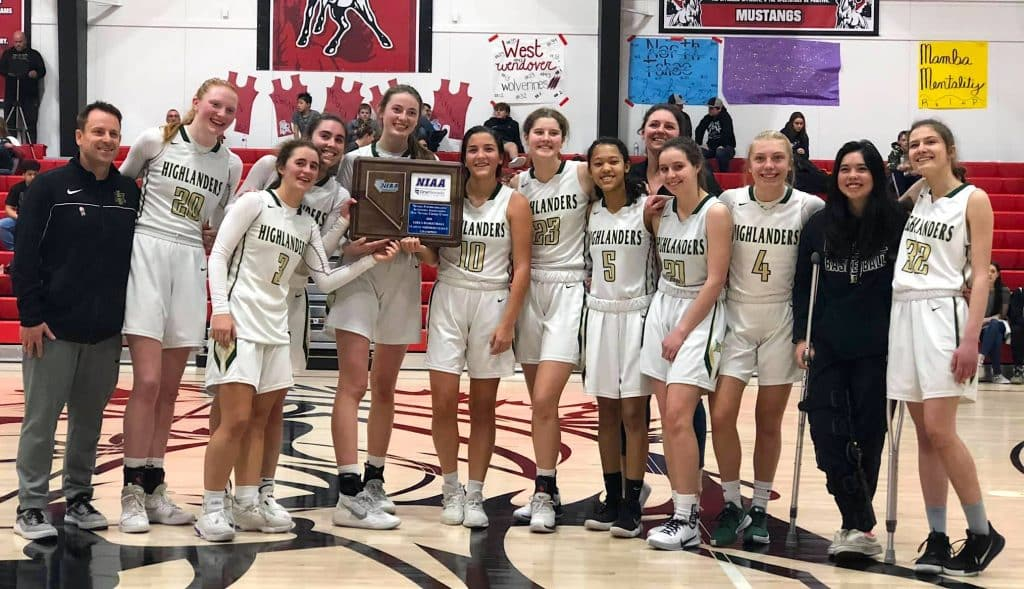 The Lady Highlanders won the 2020 regional championship.