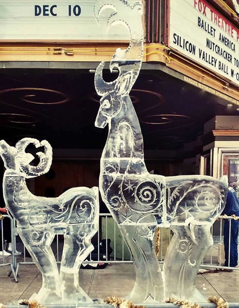 Though Winslow has scaled back his ice carving, he continues to provide sculptures for clients around Tahoe-Truckee.