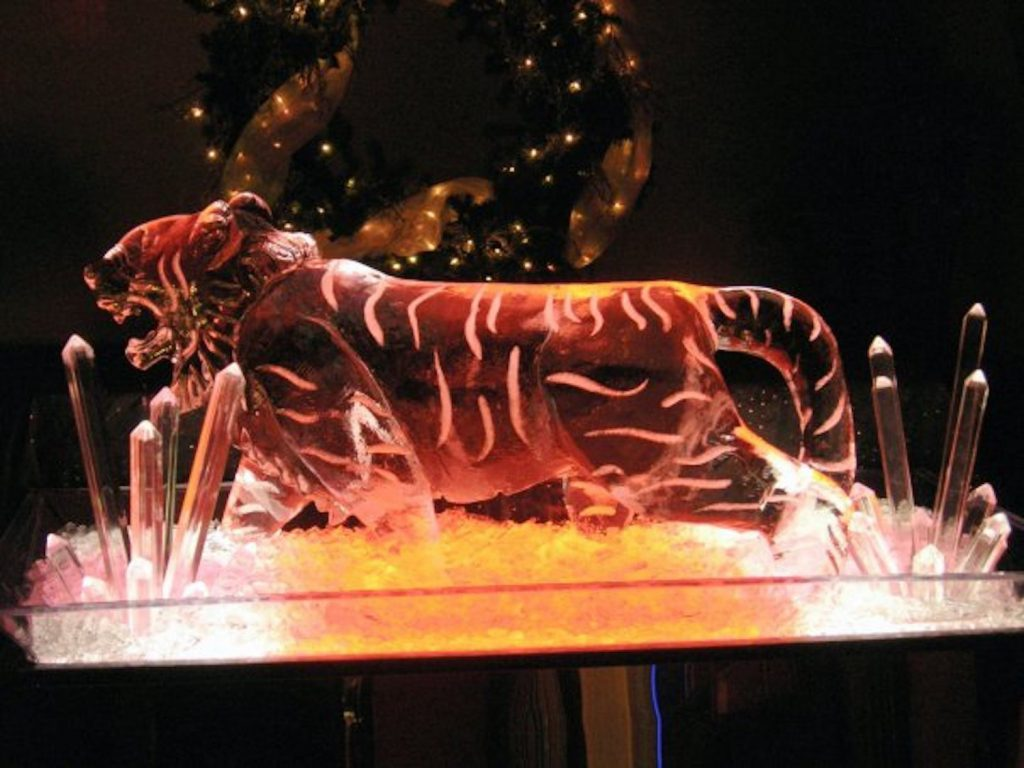 Winslow grew from ice sculpting at casinos to traveling the world for competitions.
