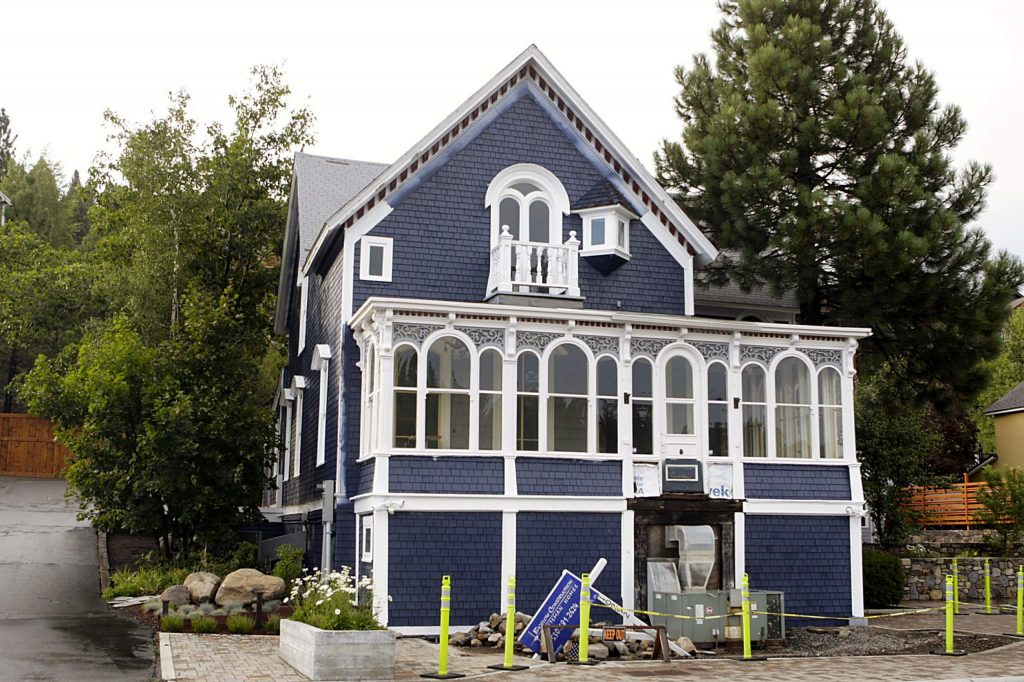 Work has been going on at the historic Kruger-White House for more than a year, as the building is transformed in Tahoe Mountain Brewing's new location.