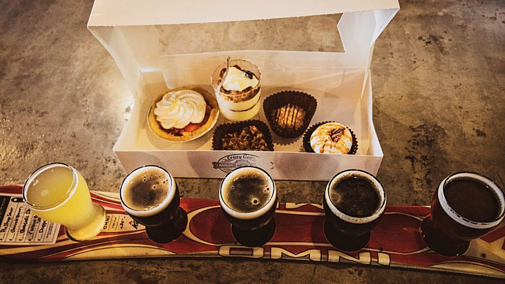 South Lake Brewing and Crazy Good Bakery are partnering for Sweets & Sips Valentine's Day.