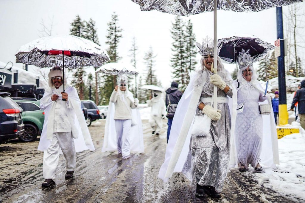 Tahoe City's SnowFest annual parade.