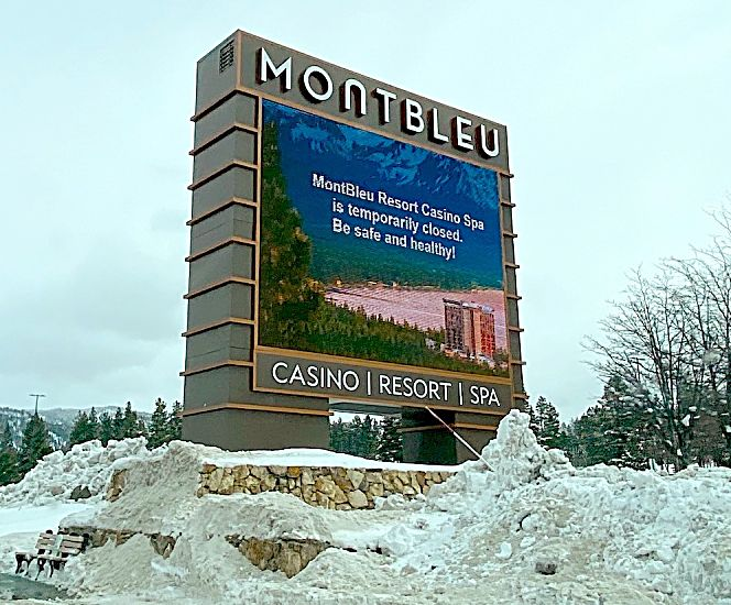 Montbleu Resort Casino & Spa also closed Wednesday after Gov. Steve Sisolak's command to close all non-essential businesses.