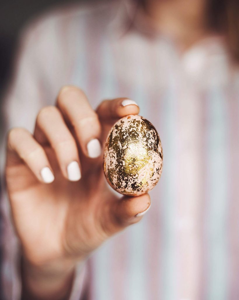 Get creative with different ways to decorative Easter eggs.