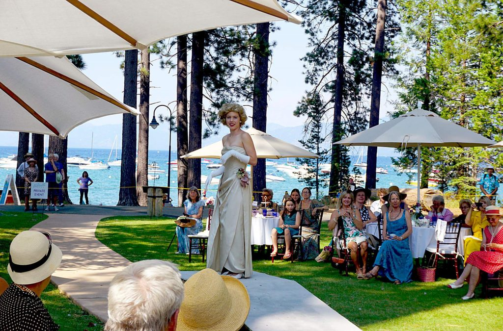 The Tahoe Heritage Foundation's Gatsby Afternoon Tea Festival.