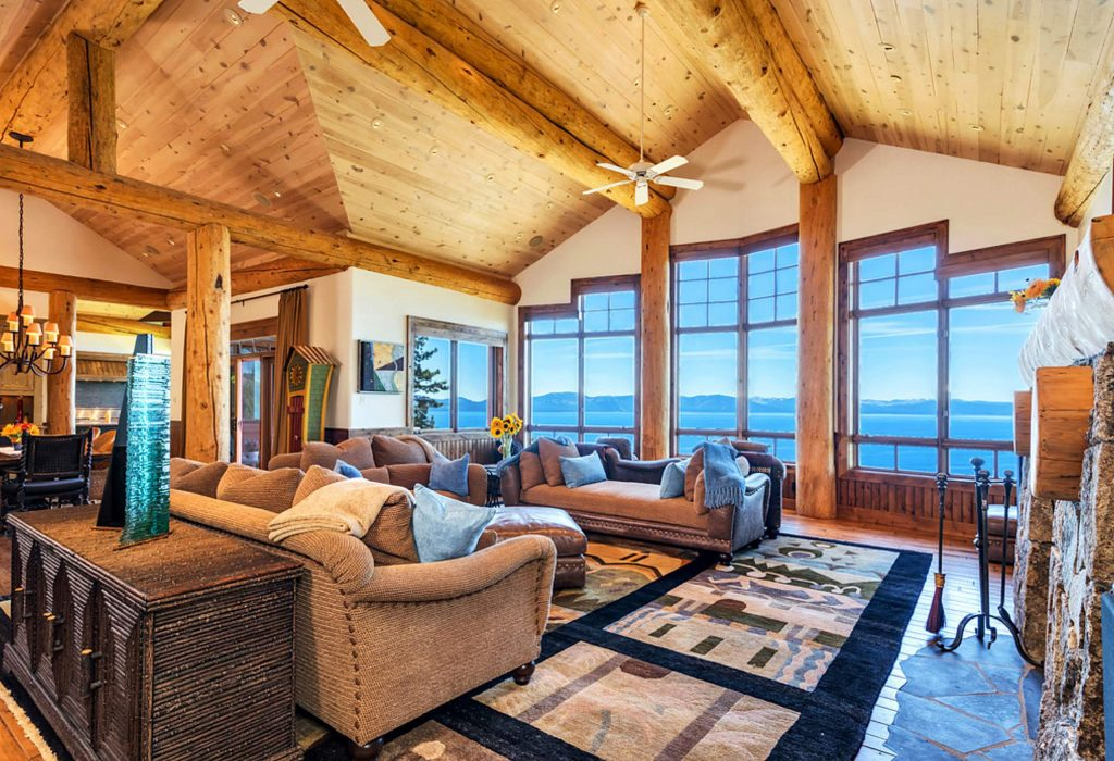 Lake Tahoe property on the market.