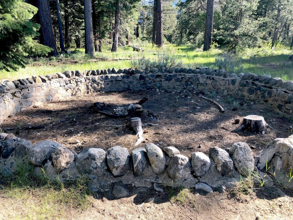 LTBMU firefighters extinguished an illegal campfire Wednesday.