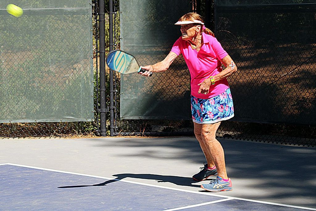 Diane Fisher said not only has pickleball helped keep the couple healthy, its introduced them to a whole new, and younger, group of friends.
