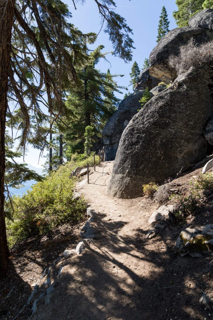 Take the Rubicon trail  to reach the lighthouse.