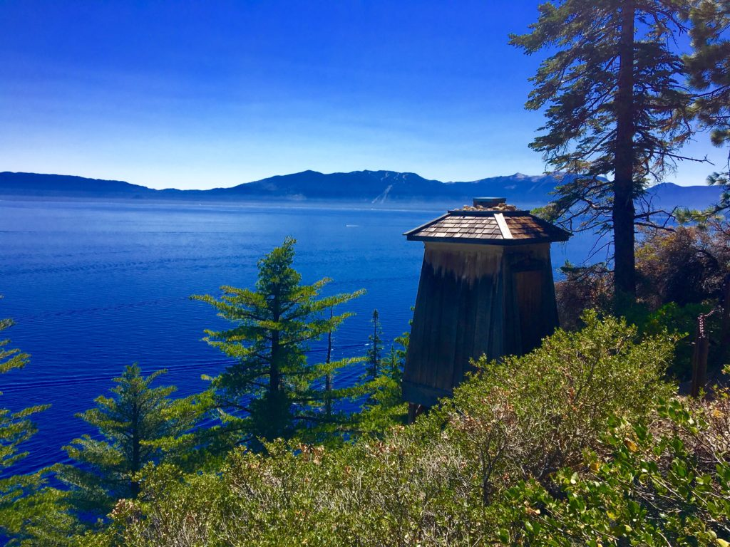 It is hard to beat the view near the lighthouse at Rubicon Point in D.L. Bliss State Park. The lighthouse as stood in the same location for more than 100 years.