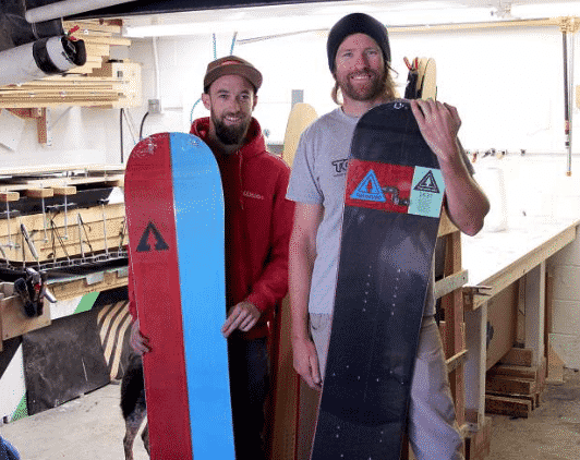 Lee Collins (right) and Abe Greenspan are the co-founders of TahoeLab.