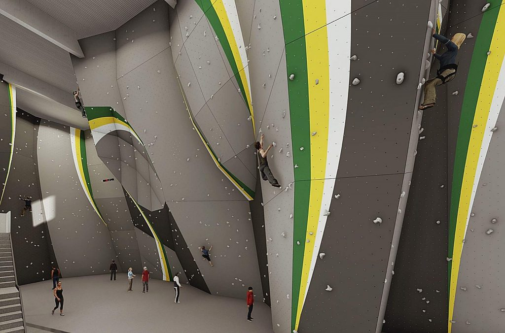 Jason Kehl, a pro-climber from Texas who helped design the new facility's wall, said a successful climbing gym ought to welcome everyone.