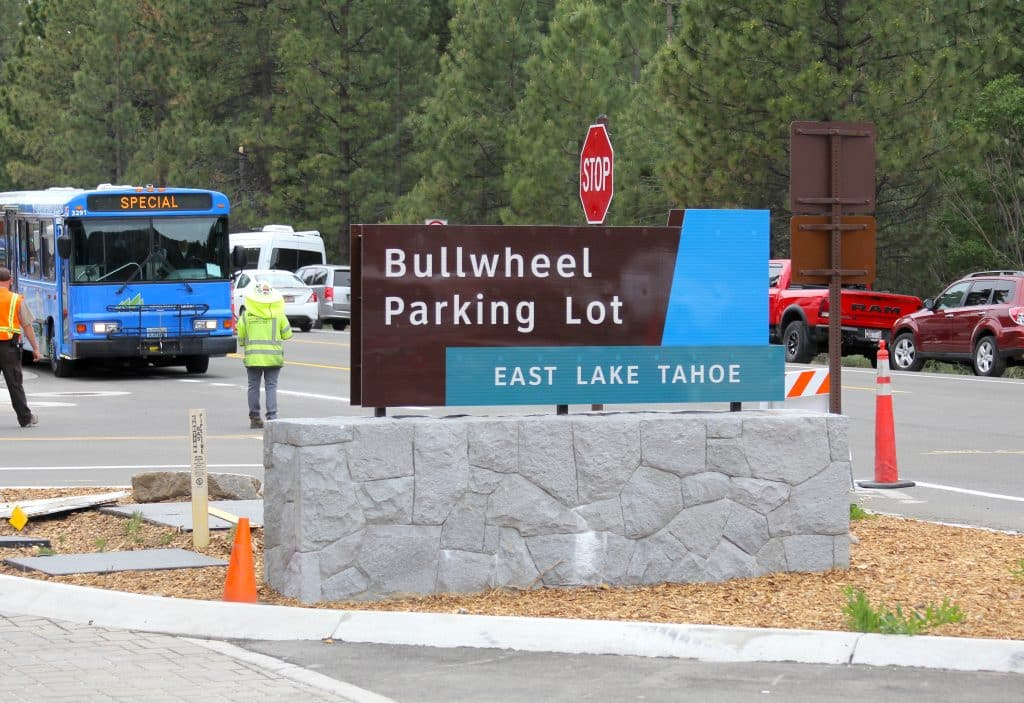 The Bullwheel Parking Lot near the East Shore Trail trailhead is one of the lots that will have paid parking.