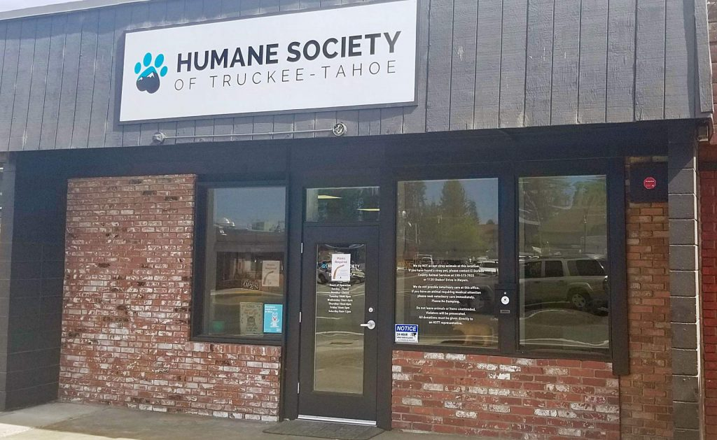 Humane Society Truckee Tahoe's South Lake office opened in Dec. 2019.