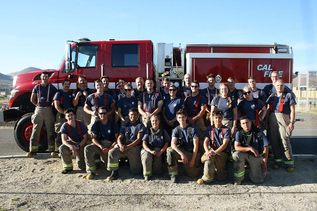 LTBFA trains with instructors from CalFire.