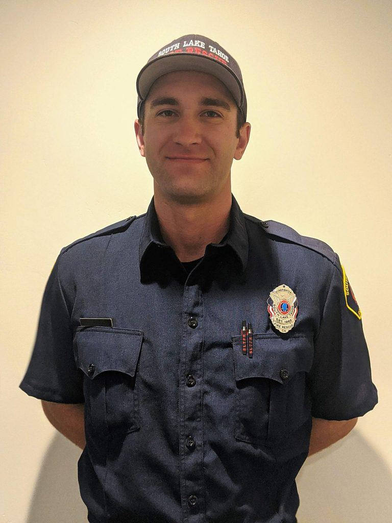 SLTFR Firefighter Paramedic Kyle Printz.
