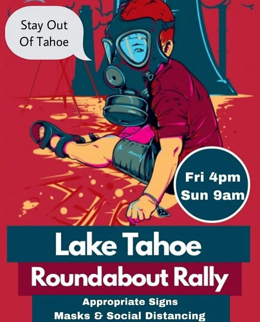 Protests are planned for 4 p.m., on Friday and 9 a.m., on Sunday in four locations in Truckee, Meyers, Incline Village and Kings Beach.