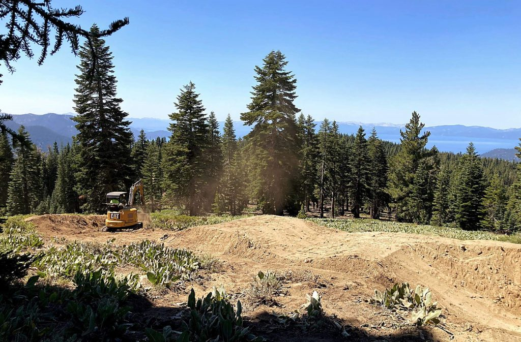 TAMBA has begun work on a trail in Incline Village.