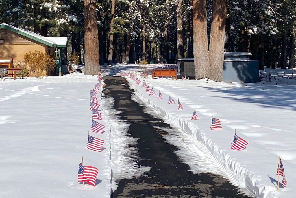 Happy Homestead Cemetery was decorated Monday in advance of Veterans Day.