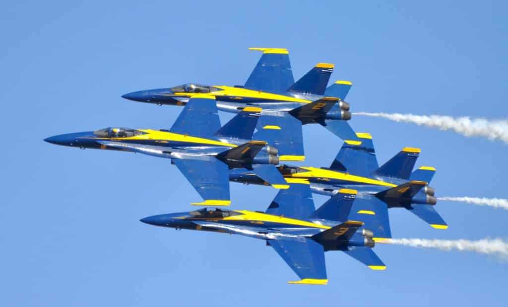 The Blue Angels plan to return to Minden in 2022.