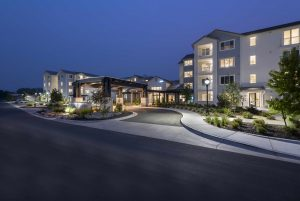 Revel Rancharrah is a vibrant independent living community in Reno that provides best-in-class amenities and services to its residents. (photo courtesy of Revel Rancharrah)